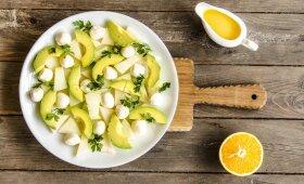 LIEKNĖJANTIEMS smaližiams: melionų ir avokadų salotos