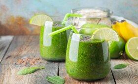 Žaliasis kokteilis – pagalba semiantis energijos