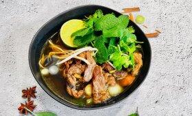 Azijietiška sriuba pagal Alfą Ivanauską