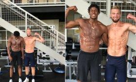 """Sabonis su Turneriu užsiima joga: """"Pacers"""" laukia krepšių laužymo"""