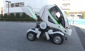 Automobilių parkavimo problemą padės išspręsti naujas išradimas: susilankstantis automobilis