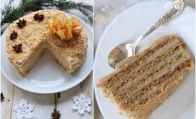 Vegetariškas pirmadienis: kaip pasigaminti sveiką medaus tortą
