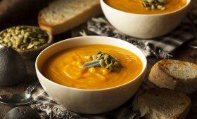 Moliūgų sriuba pagal Jamie Oliverį