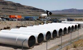 Hyperloop vamzdžiai Los Andžele
