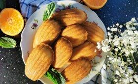 Madlenos su mandarinais