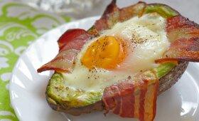 Pusryčiams – kitaip kepti kiaušiniai