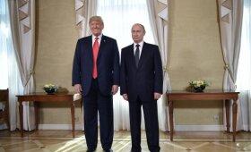 Helsinkyje įvyko Donaldo Trumpo ir Vladimiro Putino susitikimas