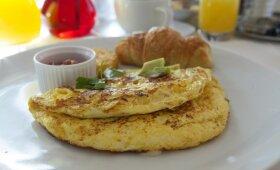 Kulinaro patarimai: kaip paruošti tobulą omletą + 2 RECEPTAI