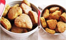 Apelsininių sausainių receptas