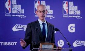 Silveris pranešė apie NBA rungtynes Paryžiuje, mintyse – ir kiti Europos miestai