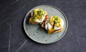 Benedikto kiaušinis – puikiai ryto pradžiai