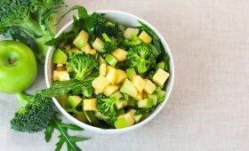 Brokolių ir obuolių salotos