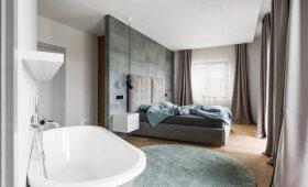 Architektės Justinos Balvočiūtės sukurtas interjeras