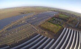 Saulės elektrinių Danijoje parkai
