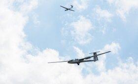 Poezija aviacijoje vadinamas sklandymas vilioja vaikus ir garbaus amžiaus žmones