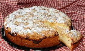 Varškės pyragas, kurio norėsis dar ir dar