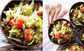 Baltymų šaltinis sportuojantiems ir lieknėjantiems – kynva salotos