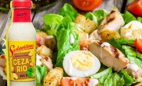 Cezario salotos – vienas ingredientas lemia šių legendinių salotų sėkmę
