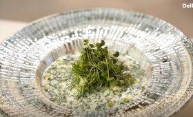 Gaivi šalta agurkų sriuba – užtruksite vos kelias minutes
