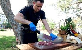 Kaip gaminamas tikras turkiškas kebabas