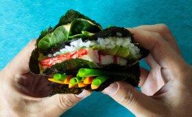 Sultingas sumuštinis tarsi sušis