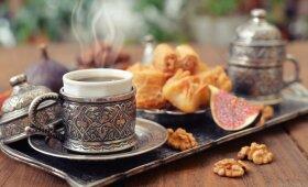 Gomurį kutenanti turkiška kava