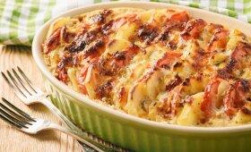 Keptos bulvės pagal prancūzišką receptą
