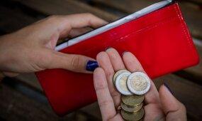 Per mėnesį turi išgyventi už 400 eurų: kokias dar sagas mesti į taupyklę?
