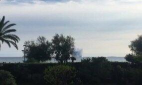 """Aviacijos šou Italijoje žuvo """"Eurofighter"""" pilotas"""