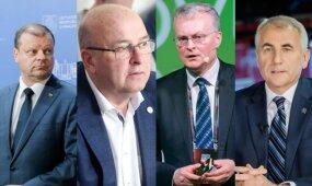 Staigmena naujausiuose kandidatų į prezidentus reitinguose: lyderių trejetuke įvyko pokyčiai