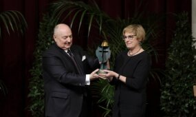 Vanagaitė gavo apdovanojimą iš su Kremliumi siejamos organizacijos
