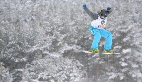 Snieglentininkų varžybos Ignalinoje