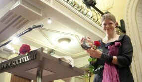 Kartų savanorystės diena - apdovanojimas Loretai Sungailienei