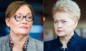Aušra Maldeikienė ir Dalia Grybauskaitė'