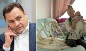 Seimo narys Petras Gražulis penktą kartą tapo tėvu?'