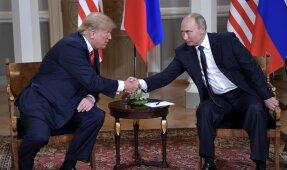 D. Trumpo ir V. Putino susitikimas Helsinkyje'