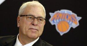 """Sąmyšis Niujorke: skelbiama, kad """"Knicks"""" savininkas nori atleisti Ph. Jacksoną"""