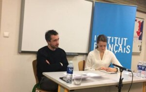 Prancūzų režisierius Antoninas Peretjatko: filmai yra ir visuomenės kritika, ir jos atspindys