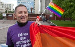 Homoseksualai švenčia: 20 metų, kai už vyro lytinį santykiavimą su vyru nebaudžiama