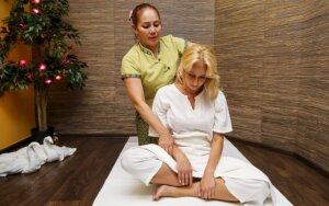 Gimtadienio šventėje - masažai garsioms moterims