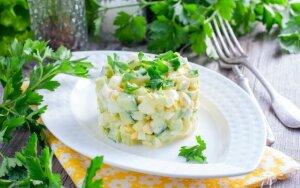 Vištienos ir kiaušinių mišrainė