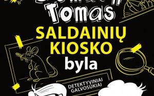 Tomo Dirgėlos detektyvinių galvosūkių knyga vaikams!