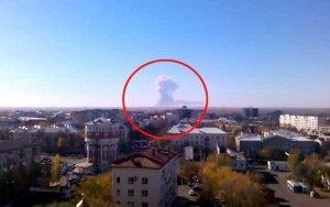 Rusijos karinių bandymų poligone nugriaudėjo galingi sprogimai