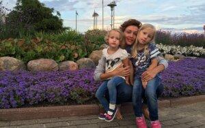 Aistė Jasaitytė–Čeburiak: nesu pernelyg globojanti mama