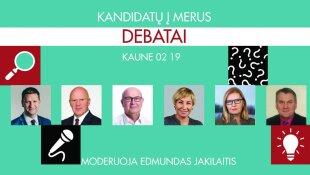 debatai iš Kauno vasario 19 diena