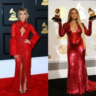 Carrie Underwood ir Beyonce