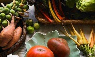 Daržovės, mityba