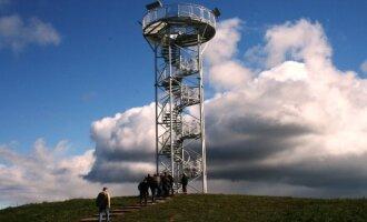 Apžvalgos bokštas Žemaitijos nacionaliname parke