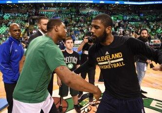 """""""Celtics"""" ir """"Cavaliers"""" įvykdė grandiozinius mainus: K. Irvingas keliasi į Bostoną"""