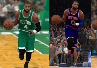 """""""Cavaliers"""" ir K. Irvingo drama: NBA 2K mainų scenarijaus simuliacija"""